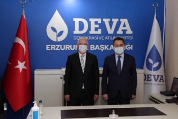 DEVA Partisi'nin Erzurum il yönetimi belli oldu