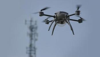 Drone ile bombalı eylem engellendi