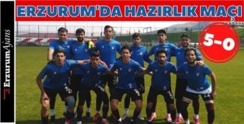 Elazığspor , Erzurumspor U19 takımı hazırlık maçı