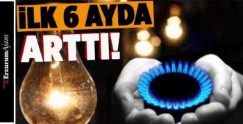 Elektrik ve doğalgaz fiyat istatistikleri açıklandı!