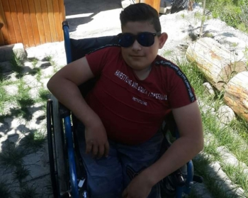 Engelli genç kaza kurbanı oldu