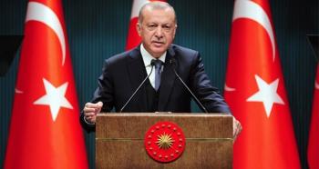 Erdoğan: Türk milletinin istiklal mücadelesi bitmeyecek