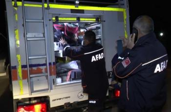 Erzurum AFAD ekibi İzmir'e hareket etti