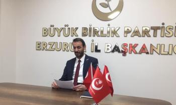 Erzurum BBP'de Yılmaz dönemi