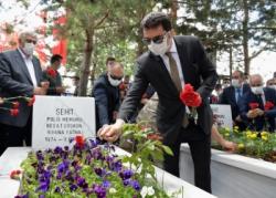 Erzurum'da 15 Temmuz şehitleri anıldı
