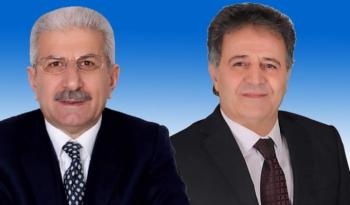 Erzurum'da iki belediye başkanı istifa etti