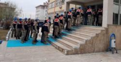 Erzurum'da kaçakçılara darbe...