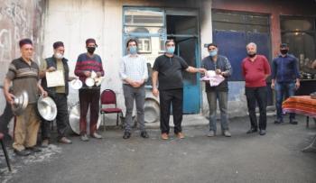 Erzurum'da kalaycılar yarıştı...