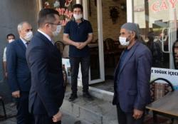 Erzurum'da Koronavirüs denetimi