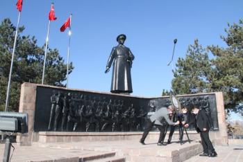 Erzurum'da Öğretmenler Günü törenle kutlandı