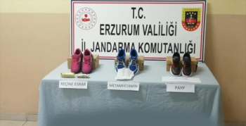 Erzurum'da uyuşturucu operasyonu... 3 kişi tutuklandı