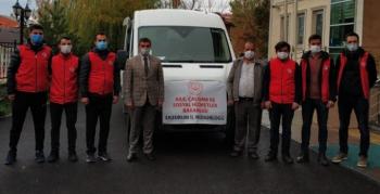 Erzurum'dan İzmir'e psikososyal destek