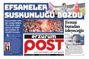 Erzurum Post Gazetesi yayına başladı