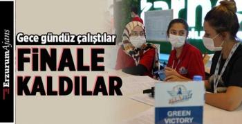 Erzurumlu öğrenciler TEKNOFEST finalinde
