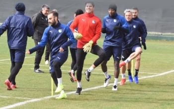 Erzurumspor'da Göztepe maçı hazırlıkları sürüyor
