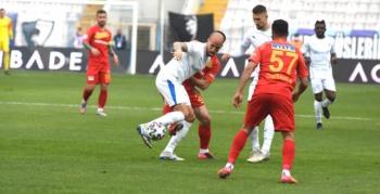 Erzurumspor evinde bu sezon ikinci kez kazandı