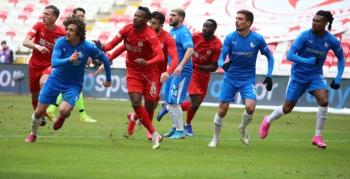 Erzurumspor galibiyeti kaçırdı