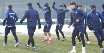Erzurumspor Malatyaspor hazırlıklarına başladı