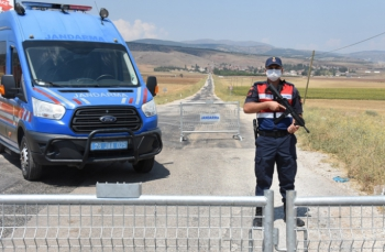 Eskişehir'de 400 nüfuslu mahalle karantinaya alındı