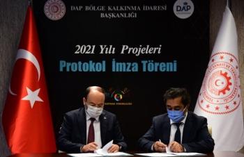 ETÜ'nün iki projesine DAP desteği
