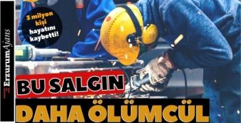 İş kazalarında 3 milyon kişi hayatını kaybetti!