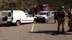 İspir'de feci kaza: 7 yaralı