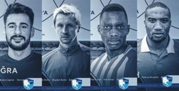 İşte Erzurumspor'un transfer raporu!