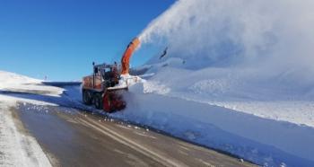 Karla mücadele timleri iş başında