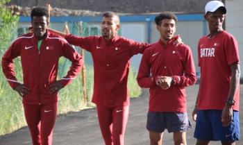 Katarlı atletler Palandöken'e hayran kaldı