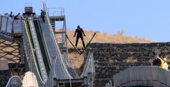 Kayakla Atlama Milli Takımı Erzurum'da...