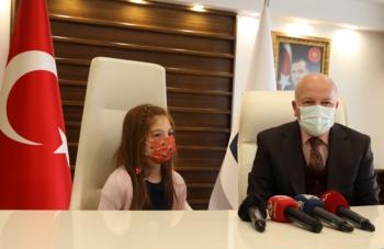 Küçük Başkandan Erzurum için bilim yatırımı önerisi