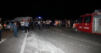Mardin'de katliam gibi kaza: 6 ölü, 2 yaralı