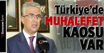 Milletvekili Kamil Aydın, muhalefeti eleştirdi