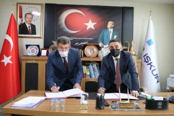 Narman'da İstihdama yönelik protokol imzalandı