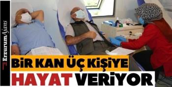 Orman Bölge'den kan bağışı