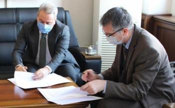 Örnek proje için imzalar atıldı