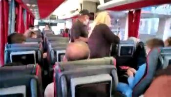 Otobüste koltuk tartışması...