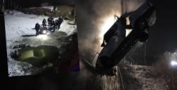 Otomobil Karasu Nehri'ne uçtu: 1 ölü