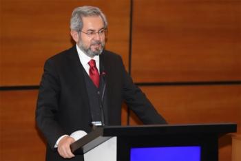 Rektör Ünüvar, Atatürk Üniversitesi'nin konuğu oldu