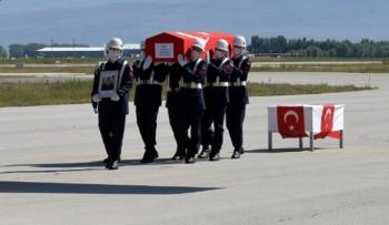 Şehit Uzman Erzurum'dan uğurlandı