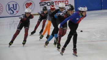 Short Track yarışları Erzurum'da başladı