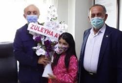 Sığınmacılardan ER-VAK Başkanı Erdal Güzel'e vefa