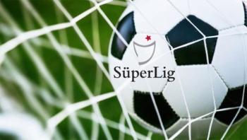 Süper Lig'de 4 haftalık fikstür açıklandı