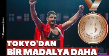 Taha Akgün bronz madalya kazandı!