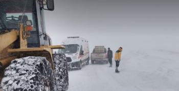 Tekman'da 66 köy yolu ulaşıma kapandı