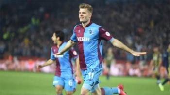 Trabzonspor'un golcüsü Sörloth için Inter iddiası