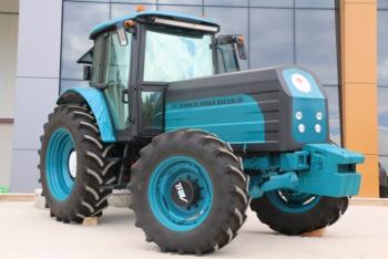 Türkiye'nin ilk yerli elektrikli traktörü