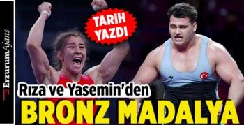 Türkiye'ye 2 bronz madalya daha!