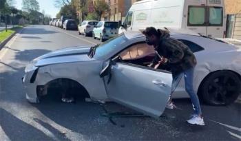 Ünlü youtuber feci kazada ölümden döndü!