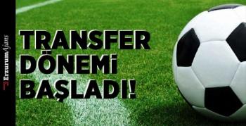 Yaz transfer sezonu resmen başladı